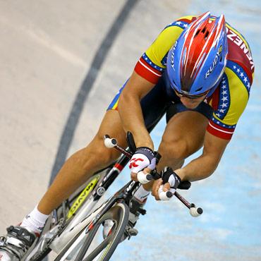 Venezolano Angel Pulgar Oro Panamericano en el Kilómetro contra reloj