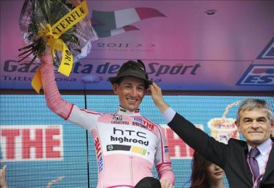Marcos Panotti Primer lider del Giro de Italia