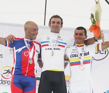 Brasil se llevó las dos medallas de oro de la Ruta Masculina