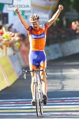 Pieter Weening (Rabobank) gana la 5ta Etapa del Giro y es el nuevo lider
