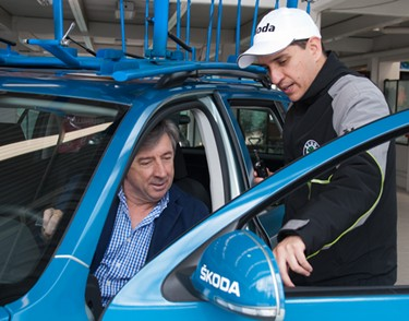 Movistar Team con el respaldo de Škoda Colombia