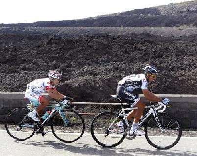 Alberto Contador Gana en Etna y es el nuevo líder en el Giro de Italia