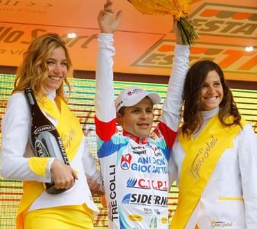 Venezolano Jose Rujano Gana la 13 Etapa del Giro