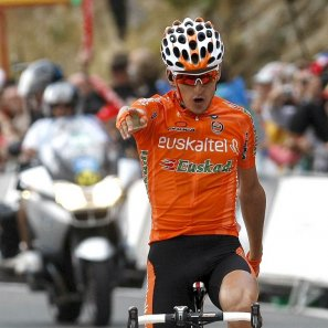 Español Igor Antón ganó  la 14ª etapa del Giro de Italia