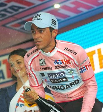 Alberto Contador Campeon del Giro 2011 Venezolano Jose Rujano 7mo