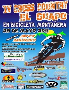 Johangel Ramirez  gana el IV Cross Country El Guapo