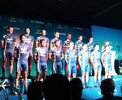 Presentado en Bogota Equipo Ciclista Movistar Team