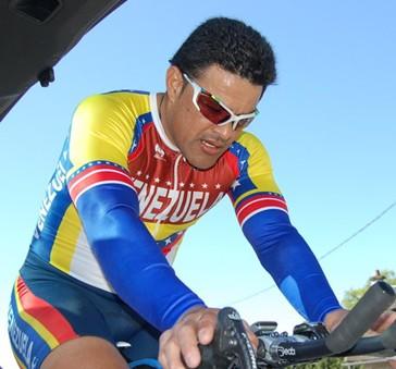 Campeon venezolano Victor Hugo Garrido correra mañana en la Copa Mundo de Ciclismo Paralimpico