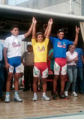 Trujillano Antonio Xavier impuso su ley en el inicio a la Vuelta a Portuguesa