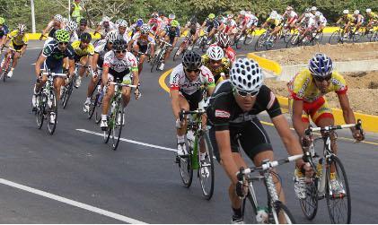 Wilches gana la 5ta Etapa de la Vuelta a Colombia