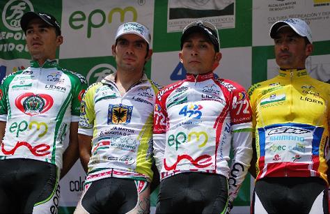 Óscar Sevilla ganó la octava etapa de la Vuelta a Colombia