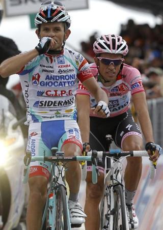Giro de Italia y Vuelta a España objetivos de José Rujano para del 2012