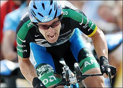 Ciclista estadounidense Leipheimer gana 3ra Etapa del Tour de Colorado y nuevamente es el líder