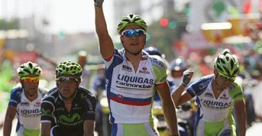 Peter Sagan gana al esprint la Etapa 12ª etapa Vuelta a España