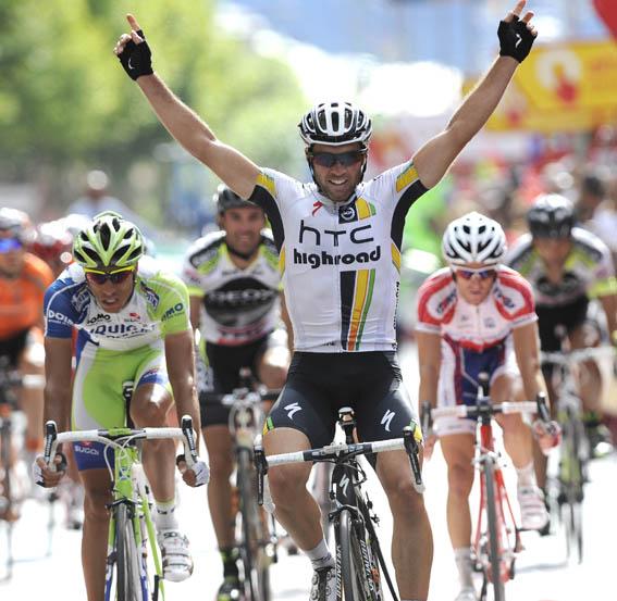 Michael Albacini gana la etapa13 de la Vuelta a España
