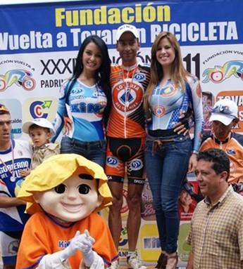 Noel Vásquez gana etapa reina en Vuelta a Tovar