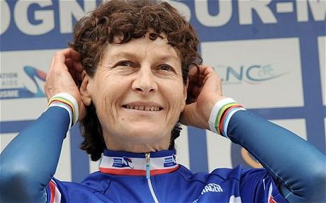 Jeannie Longo volverá a liderar a Francia en Mundial de ciclismo en ruta