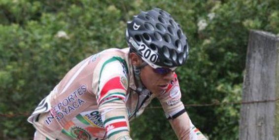 Fredy Montaña, líder de la Vuelta a Cundinamarca