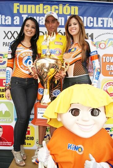 José  Rujano gana la Ultima Etapa de la Vuelta a Tovar y Noel Vásquez Campeon