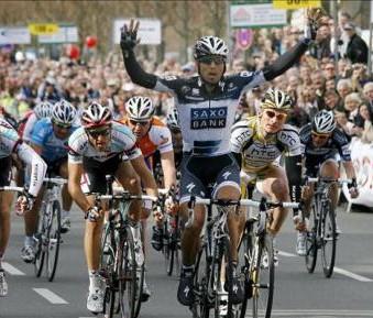 Argentino Juan Jose Haedo gana Etapa 16 de la Vuelta a España