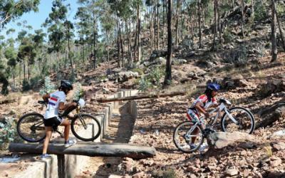 Bolivia domina la prueba de cross country en el Sudamericano de Ciclismo