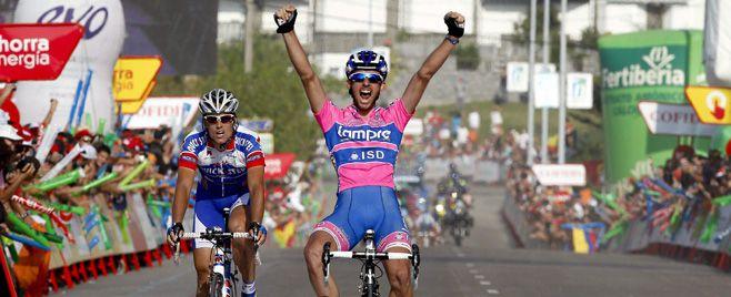 Francesco Gavazzi gana la Etapa 18 de la Vuelta a España Cobo sigue Lider