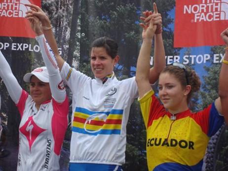 Venezolana Liliana Uzcattegui Campeona Latinoamérica de Maraton mtb