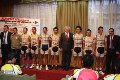 170 Ciclistas participarán en la XXXIII Vuelta Gobernación de Boyacá