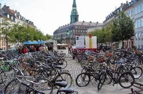 Copenhague, una ciudad que se mueve en bicicleta