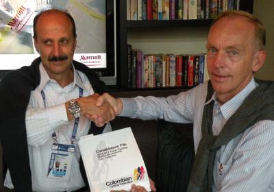 Colombia presentó  candidatura al Mundial de Pista-2014
