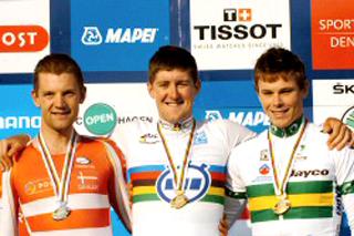 Australianos Jessica Allen y Luke Durbridge dorados en la 1ra Jornada del Mundial de Ciclismo