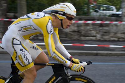 Ciclista Alemán Tony Martin, gran amenaza de Cancellara en contrarreloj del Mundial