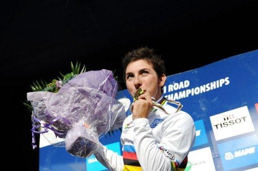 Giorgia Bronzini conserva el título del Mundial de Ciclismo