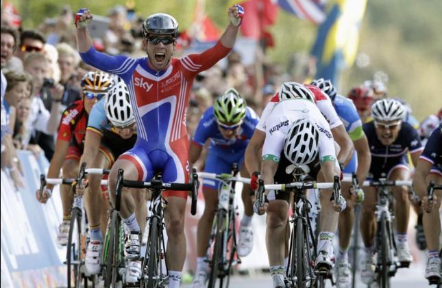 Mark Cavendish nuevo CampeonMundial de Ruta