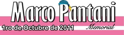 Clasificacion  Memorial Marco Pantani 2011