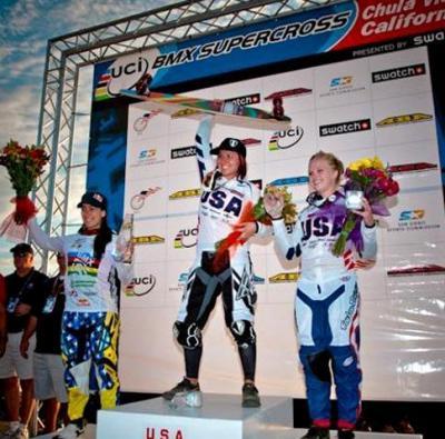 Mariana Pajón de regreso al podio en la Copa Mundo UCI Supercross