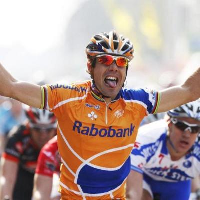 Óscar Freire concluirá su carrera profesional en las filas de Rabobank