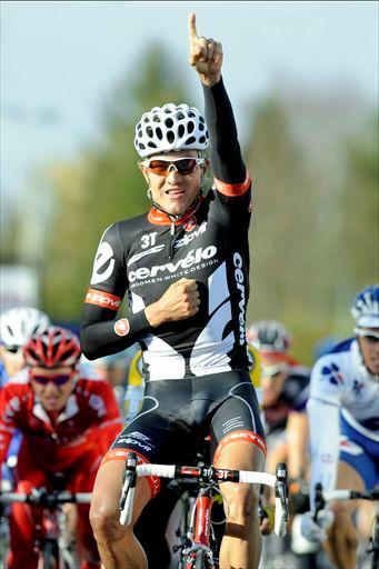 Heinrich  Haussler (Garmin-Cervelo)  gana 2da etapa del Tour de Beijing