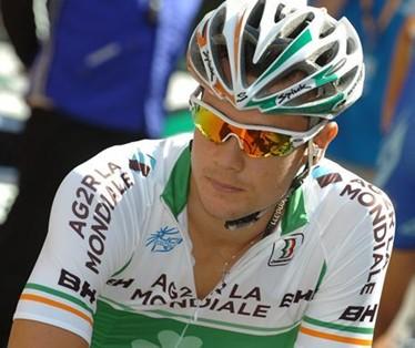Nicolas  Roche vence en la 3ª etapa del Tour de Beijing y Tony Martin sigue Lider