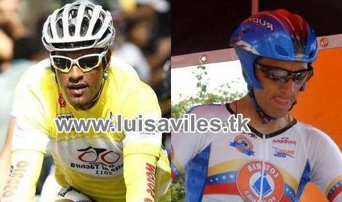 Venezolanos Miguel Ubeto y Tomas Gil  2 y 3 en el Prologo de la Vuelta a Chihuahua 2011