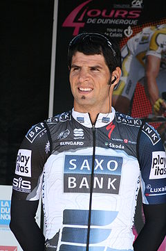 Argentino Haedo entra tercero en penúltima etapa delTour de Beijing