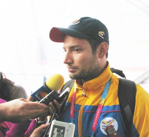Ciclista colombiano arrollado en Guadalajara fuera de peligro ya esta en la Villa Panamericana