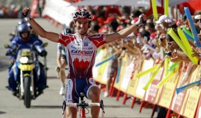 Dani Moreno (Katusha) gana el Giro del Piamonte