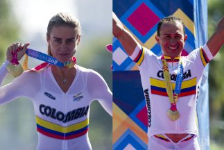 Colombia gana las dos doradas en ciclismo CRI panamericano de Guadalajara
