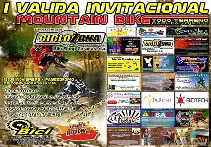 Adelantan preparativos de la I Validad invitacional de MTB Carupano 2011 circuito el copey