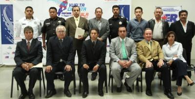 """Presentada la """"Vuelta Ciclista Internacional Puebla 2011"""""""