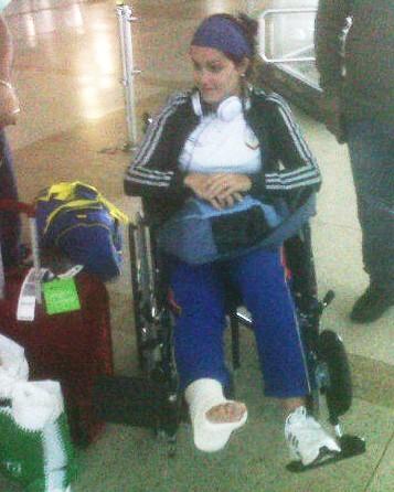Bicicrocista Venezolana Stefany Hernandez se fractura y se pierde los Panamericanos