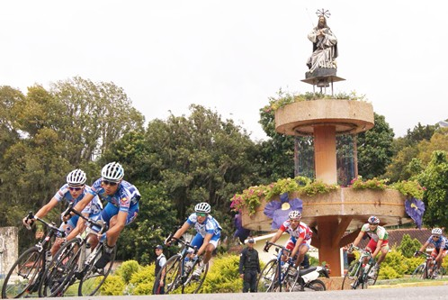 Loteria del Tachira a la Vueltas Ciclista Internacional al Alto Apure  y  Bolivia
