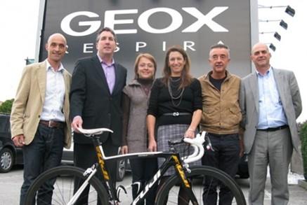 Geox confirma el final de su patrocinio con el equipo ciclista