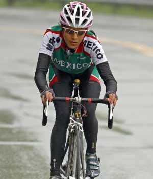 Ciclista Mexicana Mayra Rocha atropellada esta mañana en Guadalajara